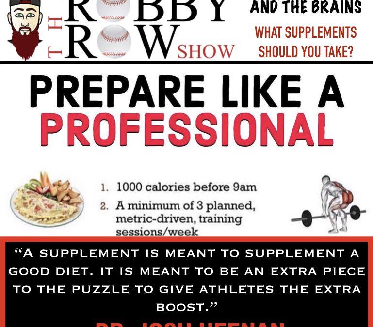 Dr. Josh Heenan – Bearded n The Brains – Supplements