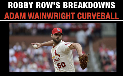 Adam Wainwright Curveball