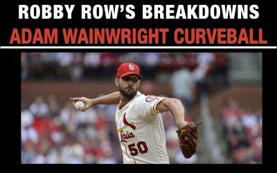 Adam Wainwright Curveball
