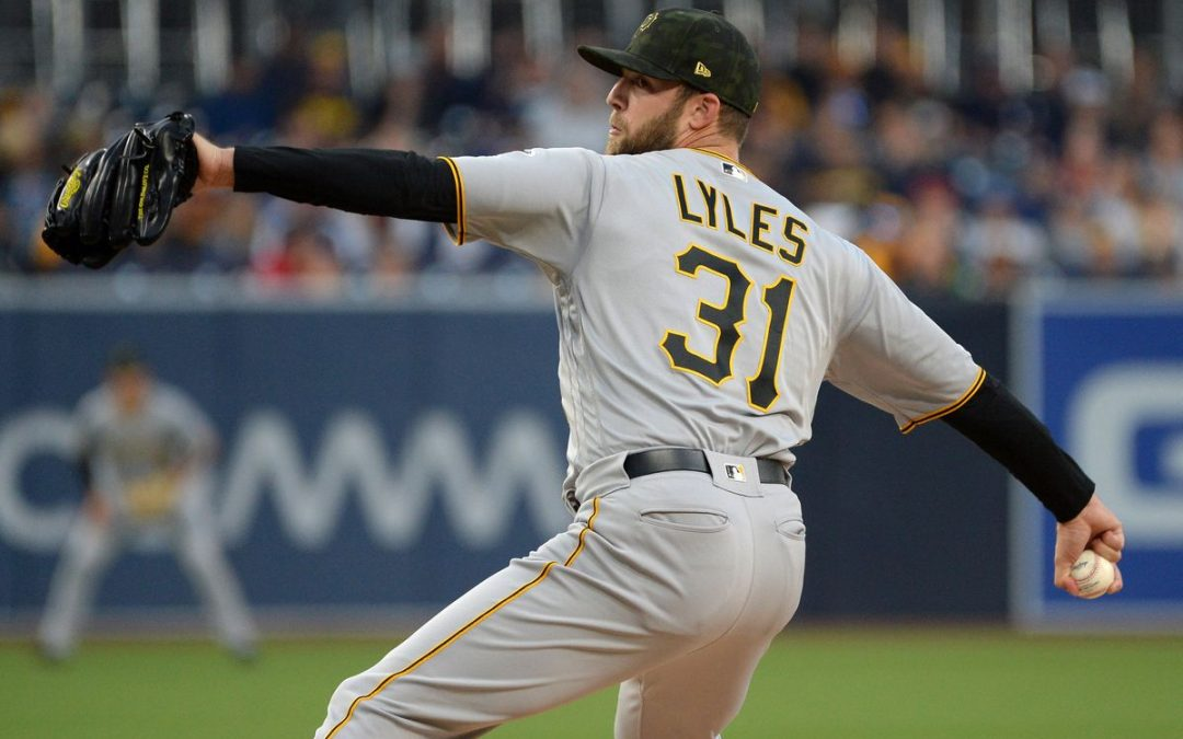 Jordan Lyles Just Put His Name In The Hat For MLB's Best Curveball