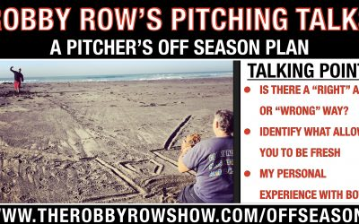 A Pitchers Off Season Plan