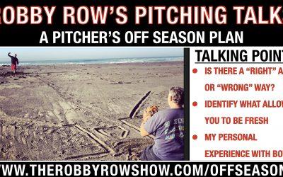 A Pitchers Off Season Plan