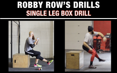 Single Leg Box Drills