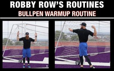 Bullpen Pitcher Warmup Routine