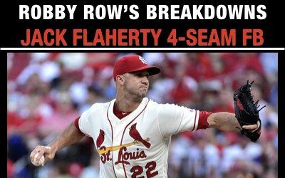 Jack Flaherty 4-Seam Fastball Breakdown