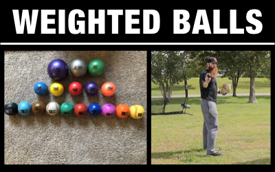 Weighted Balls + Authentic Throwing Mechanics