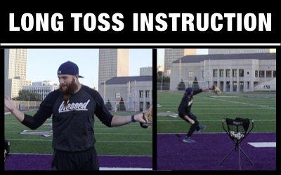 Long Toss Instruction + Execution