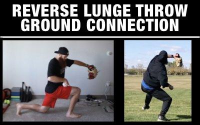 Reverse Lunge Throw