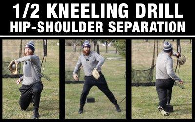 1/2 Kneeling Hip/Shoulder Separation Drill