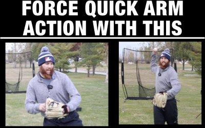 Ball in Glove Shuffle Throws