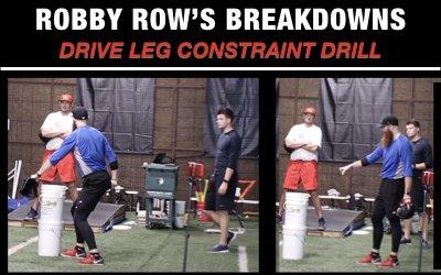 Drive Leg Constraint Drill