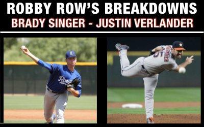 Brady Singer + Justin Verlander Mechanics Breakdown